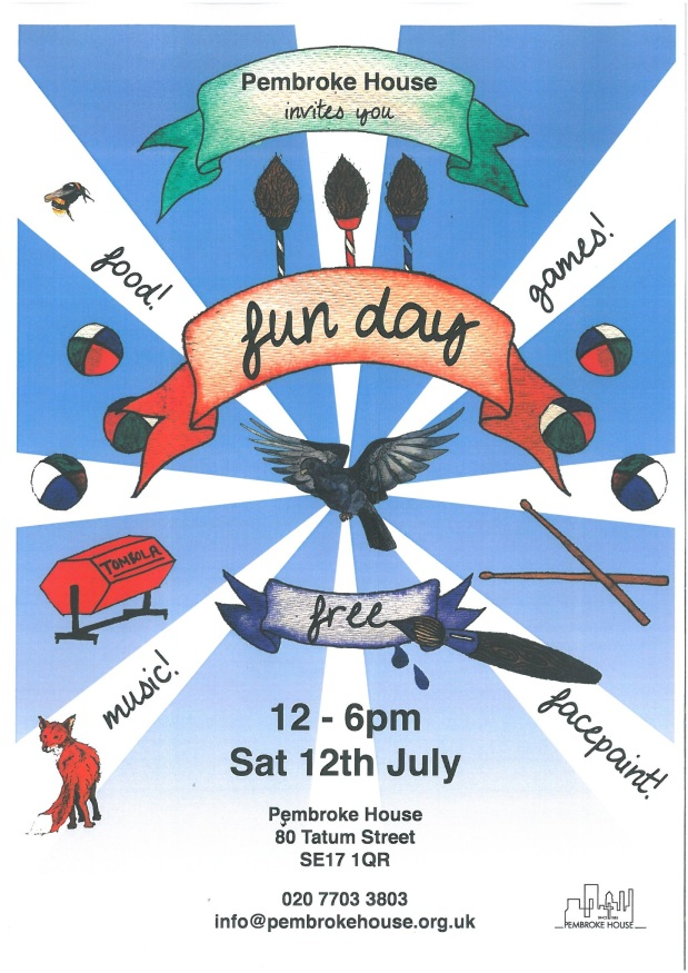 Fun Day on Sat 12 July