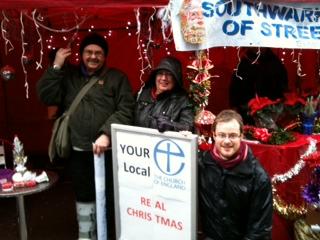 Evangelising in the Rain