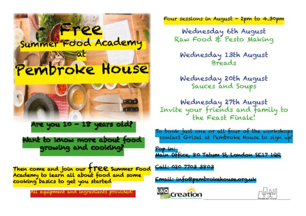 Food Academy Flyer